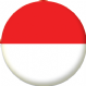Indonesia Country Flag 58mm Button Badge